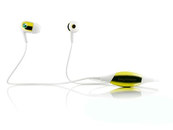 SonyEricsson Motion Activated Headphones MH907