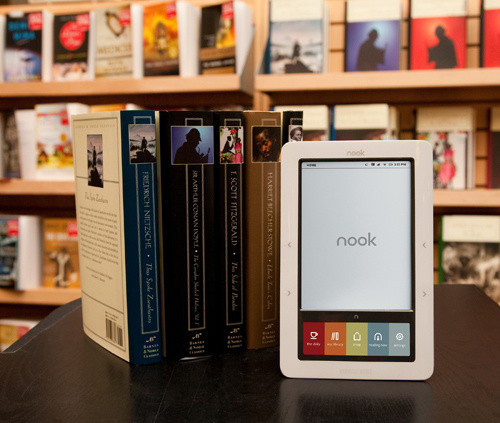 NOOK od Barnes & Noble